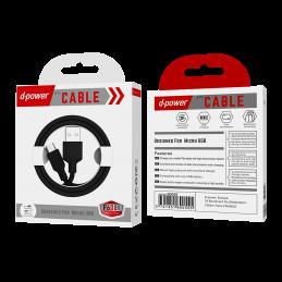 Câble Micro ubs 1m - Noir