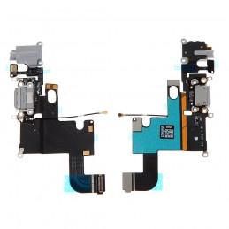 Nappe flex connecteur de charge pour Iphone 6 noir