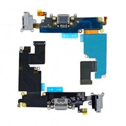 Nappe flex connecteur de charge pour Iphone 6 plus noir
