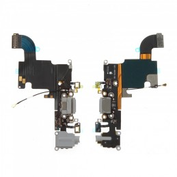 Nappe flex connecteur de charge pour Iphone 6S noir