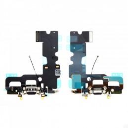 Nappe flex connecteur de charge pour Iphone 7 noir