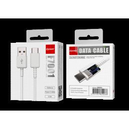 Câble Type C 1,2m - Blanc