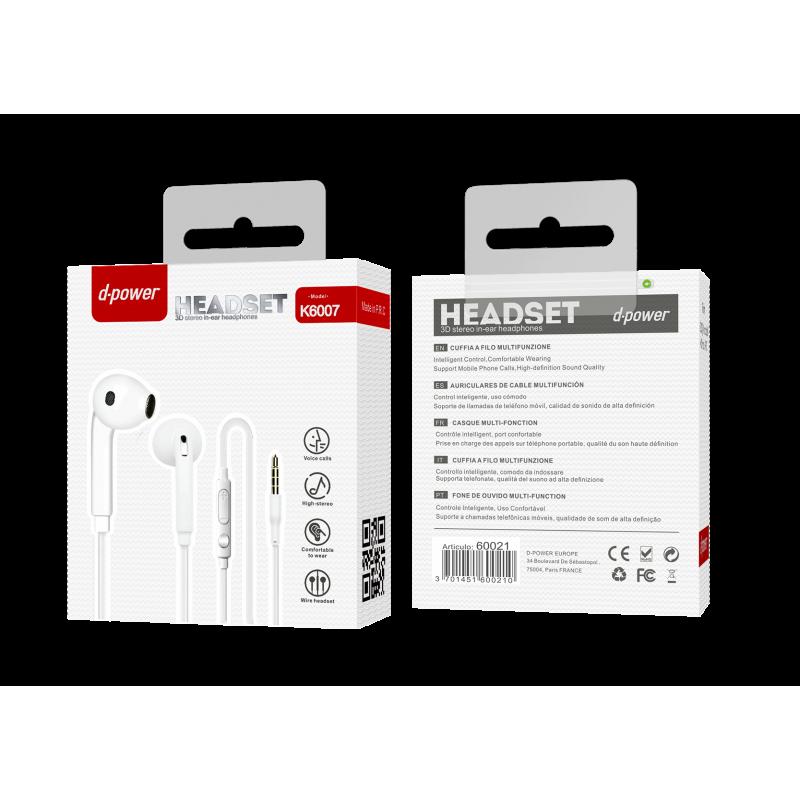 Ecouteur S6 - Blanc