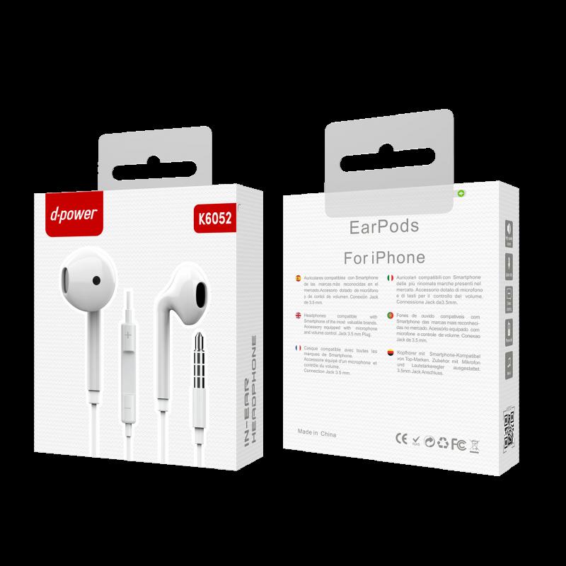 Ecouteur iphone 6 - Blanc