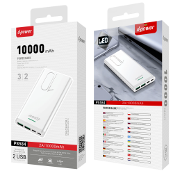 Power Bank 10000 MAH - Blanc